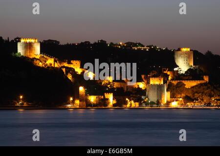 Rumeli Castle, Istanbul, Turkey - Stock Photo