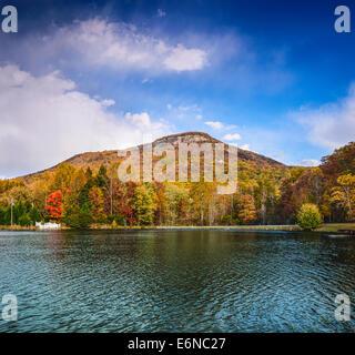 Yonah Mountain in north Georgia, USA. - Stock Photo