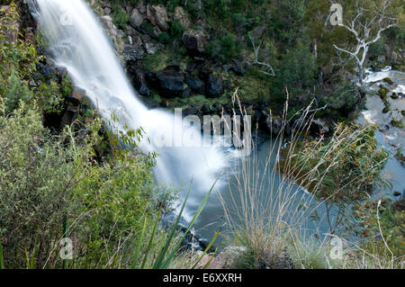 Little River Falls, Snowy River National Park, Victoria, Australia - Stock Photo