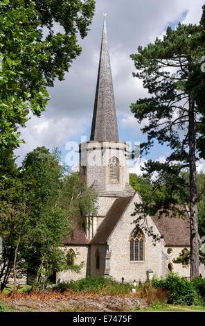 Holy Trinity Parish village parish church Penn Street Bucks South East England UK - Stock Photo
