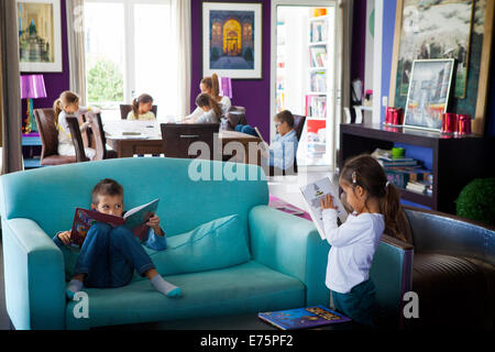 Large family - Stock Photo