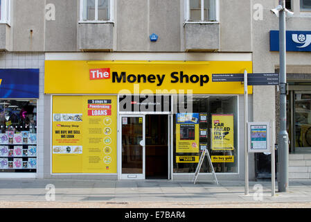 A branch of The Money Shop (Pawnbroker) - Stock Photo