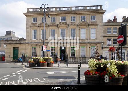 Lloyds TSB Bank in Trowbridge, Wiltshire - Stock Photo
