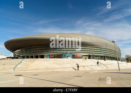Atlantic Pavilion, Parque das Nacoes, Lisbon, Portugal, Europe - Stock Photo
