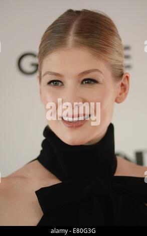 Rosamund Pike at arrivals for GONE GIRL World Premiere and Opening Night Gala at the 52nd New York Film Festival, - Stock Photo