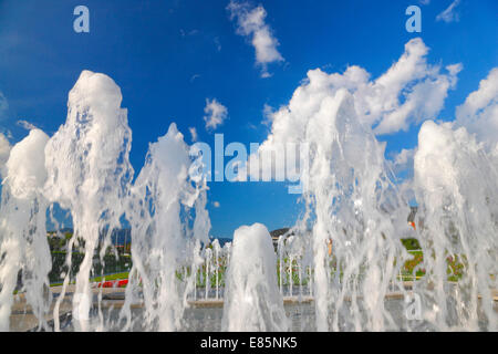 Zagreb fountain - Stock Photo