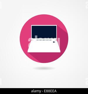 notebook icon - Stock Photo