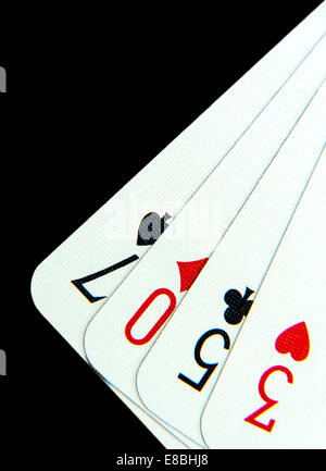 Lose The Game Playing Cards - Stock Photo