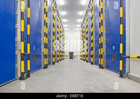 Dolefresh state-of-the-art ripening facilities in the north of the UK. In total it will have 32 ripening rooms for - Stock Photo