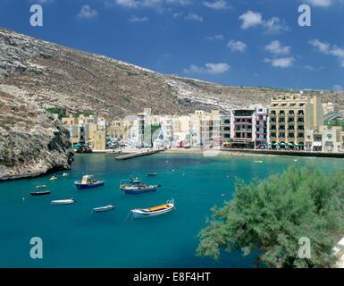 Xlendi, Gozo, Malta. - Stock Photo