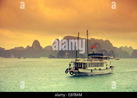 Vietnam, Halong Bay - Stock Photo