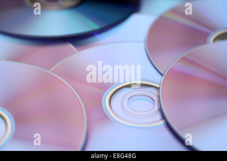 Disc background close-up. - Stock Photo