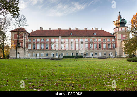 Łańcut Castle museum is one of the most beautiful  architectural aristocratic residences in Poland, excellent interiors - Stock Photo