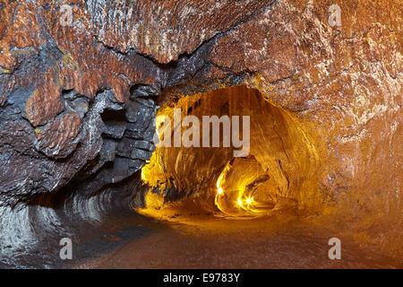 Thurston Lava Tube - Stock Photo
