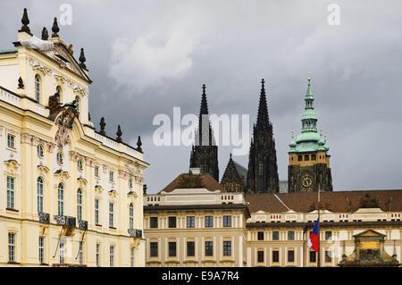Hradcany Square - Stock Photo