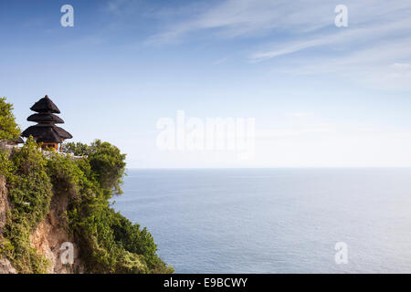 [Pura Luhur Uluwatu], Balinese sea temple, Bali, Indonesia - Stock Photo