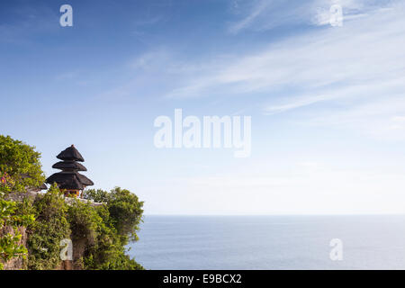 [Pura Luhur Uluwatu] sea temple, Bali, Indonesia - Stock Photo