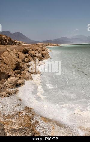 Lake Assal, Djibouti - Stock Photo