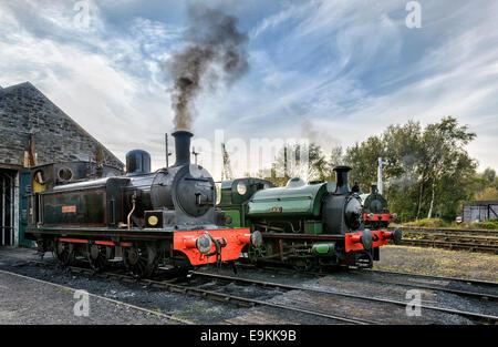 Steam Locomotives - Stock Photo