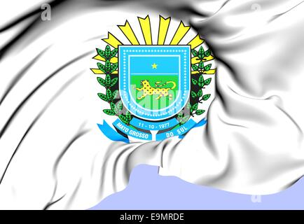 Mato Grosso do Sul Coat of Arms - Stock Photo
