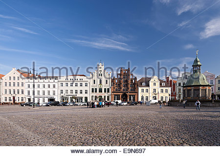 Building in Wismar - Stock Photo