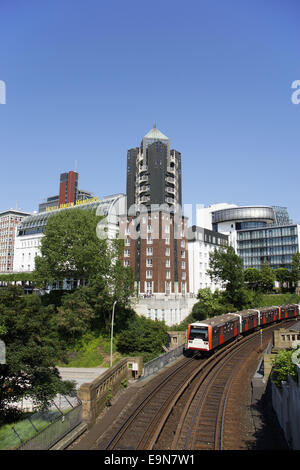 Hotel Hafen Hamburg in Hamburg, Germany - Stock Photo