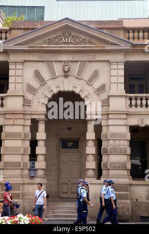 Old Police Station at The Rocks, Sydney, Australia, - Stock Photo