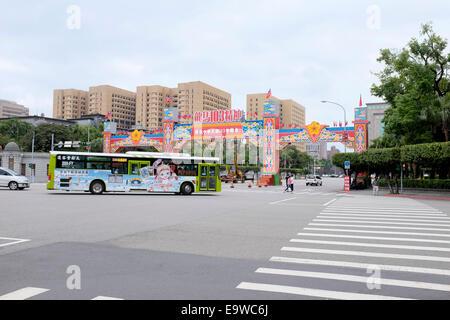 Chinatown Gate, Taipei, Taiwan - Stock Photo
