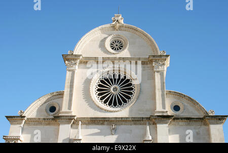 (FILE) - An archive picture, dated 17 October 2013, shows a view of the Saint Jacobs cathedral in Sibenik, Croatia. - Stock Photo