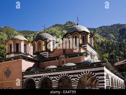 Nativity Church at the Rila Monastery; Rila, Bulgaria - Stock Photo