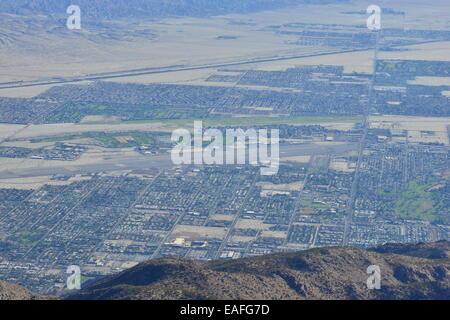Palm Springs, Aerial Tramway in Palm Springs, - Stock Photo