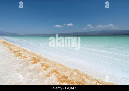 Lake Assal, Djibouti - Stock Photo