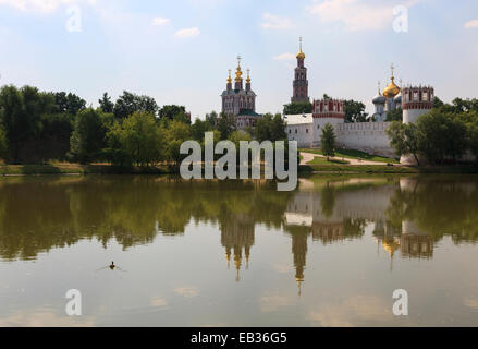 Novodevichy Convent, Moskau, Moscow Oblast, Russia - Stock Photo