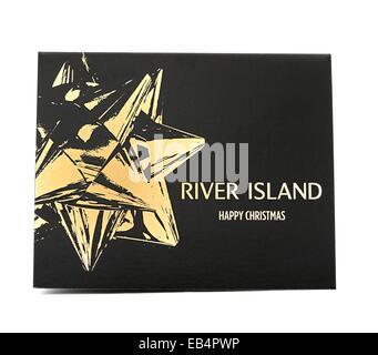 River Island gift card wallet England UK - Stock Photo