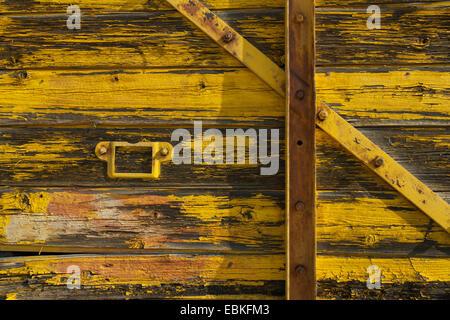 Old train wagon - Stock Photo