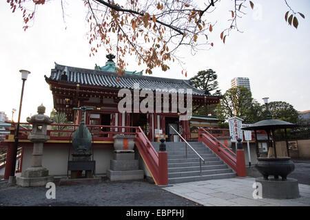Shinobazu Bentendo temple,Ueno Park,Taito-Ku,Tokyo,Japan - Stock Photo