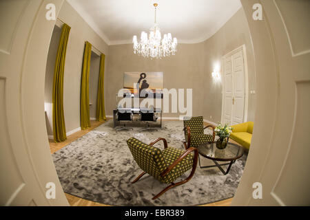 Prague, Czech Republic. 03rd Dec, 2014. The Bavarian representative office in Prague, Czech Republic, 03 December - Stock Photo