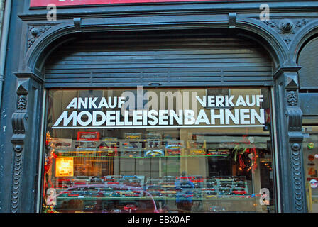 shop at the Waidengasse in Cologne, Germany, North Rhine-Westphalia, Cologne - Stock Photo