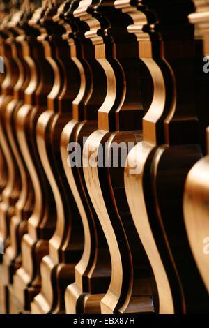 row of Pews - Stock Photo