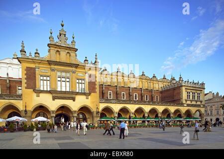 Poland, Krakow old market - Stock Photo