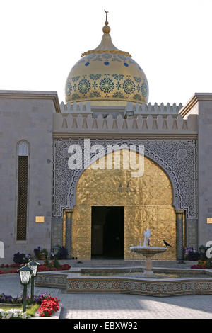 Oman, Zawawi Mosque in Muscat - Stock Photo