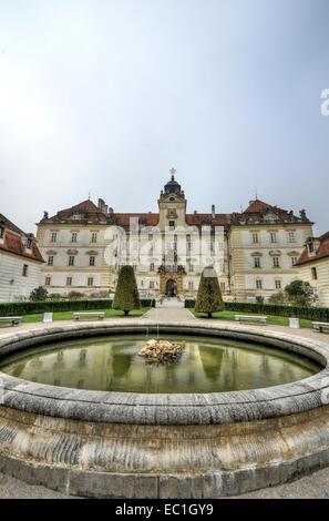 Valtice Castle, Valtice, the Czech Republic - Stock Photo