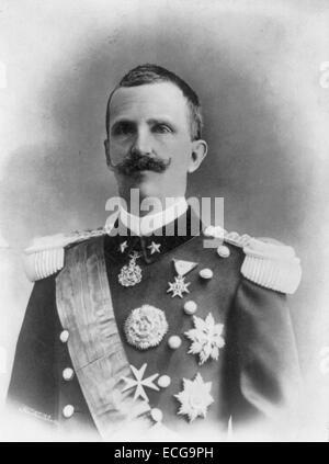 Victor Emmanuel III, King of Italy, 1869-1947, circa 1914 - Stock Photo