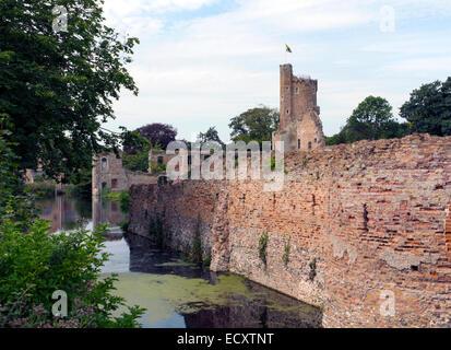 Caister Castle, Norfolk, UK - Stock Photo