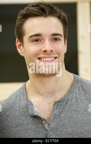 New York, NY, USA. 22nd Dec, 2014. Corey Cott in attendance for GIGI Revival On Broadway Preview Performance, New - Stock Photo