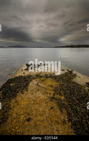 Crinan on the West Coast of Scotland - Stock Photo