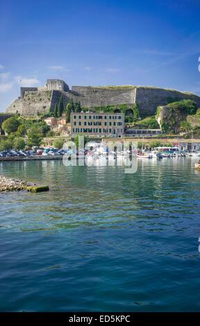 corfu town,greece - Stock Photo