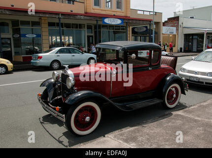 Ford Model A car in Devonport, Auckland - Stock Photo