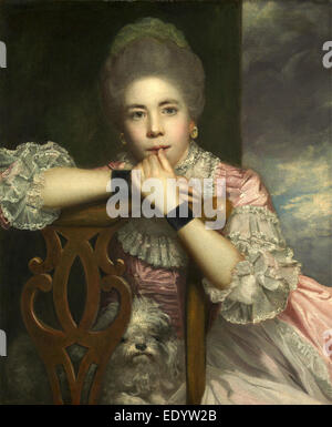 Mrs. Abington as Miss Prue in 'Love for Love' by William Congreve Mrs. Abington as Miss Prue - Stock Photo