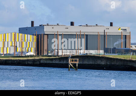 Titanic Film Studios, principle location for a number of Hollywood films as well as HBO's Game of Thrones. - Stock Photo